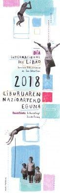 Liburuaren Nazioarteko Eguna 2018 Día Internacional del Libro.  Maite Mutuberriaren ilustrazioa / Ilustración de Maite Mutuberria