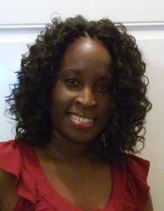 GoGo curl shoulder length. Hair styled by Ms. Pk Crochet Braids Mcdonough Ga #crochetbraids #mspkcrochetbraids #protectivestyle