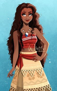 """I am not a princess !' 'You're the chief's daughter and have a companion!' #Moana #Vaiana #DisneyPrincess"