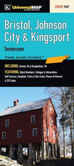 Bristol/Johnson City Tennessee Fold Map