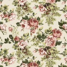 Vintage kvety veľký vzor