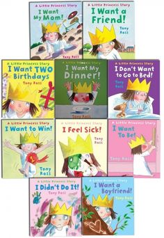 A Little Princess Story Collection by Tony Ross 10 Book Set   #LittlePrincess #ChildrensBook #Classic #GoodRead   http://www.snazal.com/a-little-princess-story-collection-tony-ross-10-book-set-ser--DEALMAN-U11-LittlePrincess-10bksS2.html