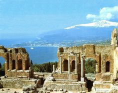 Ancient Greek Theater, Taormina, Sicily