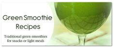Green Smoothies Recipe Button Shadow
