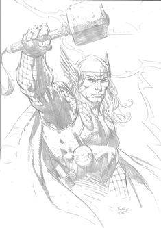 Thor (David Finch) Comic Art