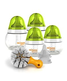 Another great find on #zulily! Infant Feeding Bottle Set by mOmma #zulilyfinds**WANT THESE