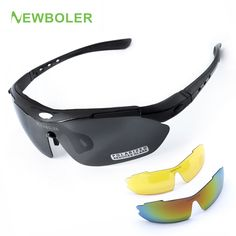 237d2d0149 NEWBOLER Man Women Polarized Cycling Eyewear Outdoor Sports SunGlasses MTB  Bike Racing Bicycle Sunglasses Goggle