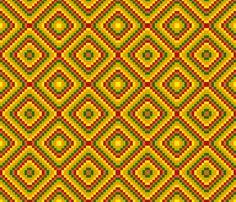Bella Nina 18  - Diamonds fabric by maryyx on Spoonflower - custom fabric