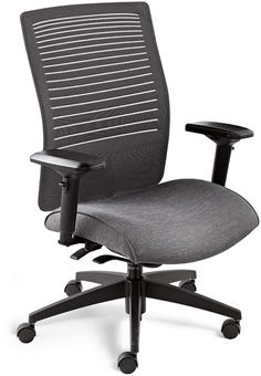 Loover is the first chair to feature the Weight Sensing Synchro-Tilter, that requires no tilt tension adjustments.
