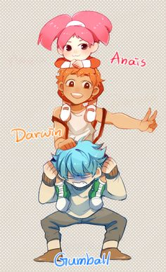 the amazing world of gumball anime ver | ... The Amazing World of Gumball- Anime/human version by ~MelSpontaneus