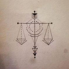 Resultado de imagem para tattoo libra