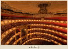 The Bayerische Staatsoper in Munich. Photo by Ken Kaminesky.