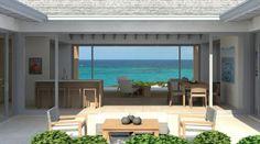 Beach 4: 4 Bedroom/4 Bath; $1,195,000; Ocean View; 4,510 SF http://www.villasatgreathouse.com/villas/beach-villa-4-bedroom-4-bath