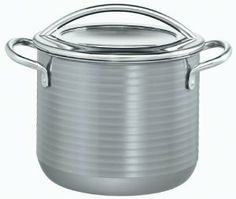 Silit  Vision e30  Cookware 5-1/4-Quart Stock Pot with Lid by Silit-Werke GmbH & Co.KG (Parent). $244.25. Modern, ergonomically designed all-metal handles are heat insulating and oven proof. Extremely durable and hygienic steel ceramic exterior; Tests have proven colors will not fade even after 1000 cycles in the dishwasher. High quality tempered glass lid ideal for low water, energy-saving, and full-view cooking. Interior features ultra hard, scratch-resistant smooth...