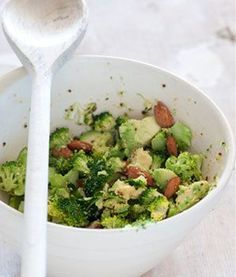 Avocado and broccoli salad - this is my new 'go-to' lunch. Delicious. healthy and very filling!