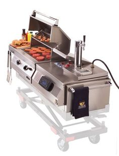 GO Chassi C.22 Grill N Chill with Grill, Stereo, Cooler and Draft Tower - Amazon.com