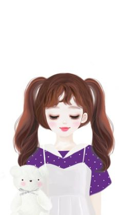 animals, art, art girl, baby, baby girl, background, bear, beautiful, beautiful girl, beauty, beauty girl, cartoon, design, drawing, Enakei, girl, hair, illustration, illustration girl, pastel, pretty, sweet girl, sweet lolita, wallpaper, wallpapers, we | girl, cute and beautiful