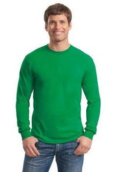 Gildan - Heavy Cotton 100% Cotton Long Sleeve T-Shirt.  5400 - $9.64 #longsleeveshirt #sweatshirtstation