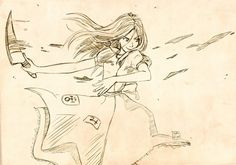 A sketch of Alice Madness Returns for Traditional sketch. Texture by ~Knald [link] More pics from Alice: [link] [link] Alice Alice Madness Returns, Alice In Wonderland Artwork, Dear Alice, Badass Pictures, Alice Liddell, Disney Villains Art, Were All Mad Here, Halloween Horror, Yandere