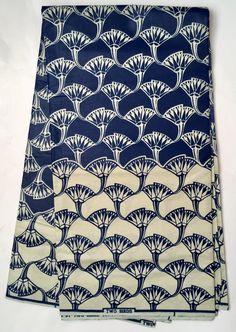 House of Mami Wata African Print Fabrics https://www.etsy.com/listing/538449735/african-print-fabricankara-blue-cream