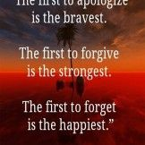 The first to apologies.