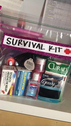 survival kit for 21st birthday gift!
