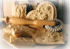 How to Order Wood COOKIE MOLDS by Mail