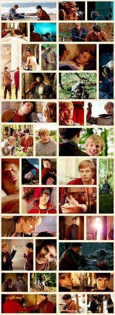 Favorite Arthur & Merlin Moments ALL GIFS