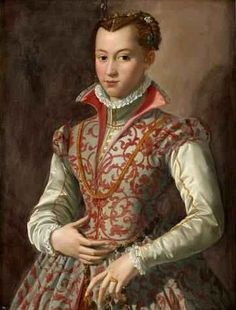 Young Woman, said to be Isabella de Medici, ca. 1565 (attributed to Agnolo Bronzino) (1503-1572) Bukowskis Auktioner Stockholm