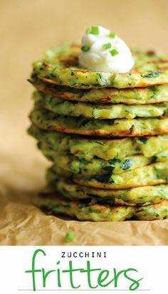 #Recipe : Zucchini Fritters