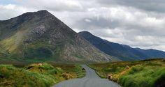 This photo from Galway, North is titled 'roadtrip through the mamturks'. Ireland Homes, Connemara, Irish Blessing, Road Trippin, My Heritage, Where The Heart Is, Blessings, Places To Travel, To Go