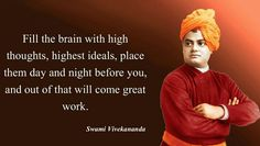 Swami Vivekananda Message to Youth inspired millions of people around the globe. Swami Vivekananda is revered as one of the most prolific thinkers. Also a guiding light who took India's message to the entire world. Swami Vivekananda Wallpapers, Swami Vivekananda Quotes, Famous Quotes, Best Quotes, Life Quotes, Karma Quotes, Wisdom Quotes, Inspiring Quotes, Motivational Quotes
