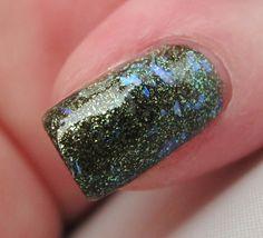 Mind Flip glitter nail polish 15 mL .5 oz from by TheLadyVarnishes