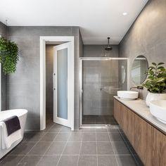 Urban Interior Design, Mcdonald Jones Homes, Master Bathroom, Bathroom Vanities, Bathrooms, Bathroom Inspiration, Bathroom Ideas, Deco, House Tours