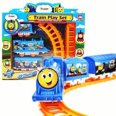 Dynamic Rail Car Toy 103cm Big Multilayer Rail Kids Thomas Electric Train Track Toys With Retail Packaging For Kids Gift Toys & Hobbies