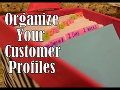SIMPLY ORGANIZED & Pretty: Customer Profile Box (+playlist)