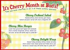 July 2011 monthly specials