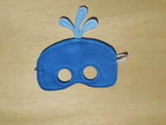 Childs Nutcracker Mask by Mahalo on Etsy Toddler Crafts, Preschool Crafts, Crafts For Kids, Whale Costume, World Book Day Ideas, Whale Crafts, Duncan Blue, Felt Mask, Vocabulary Parade