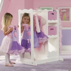 Dress Up Center with Storage - adorable.