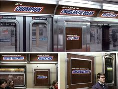 Caregivers often travel to their places of employment, so I've considered doing a subway ad series. Here's an interesting shape from inside a train. Hoarding Design, Pre Production, Futuristic Design, Word Play, Advertising Agency, Confectionery, Printing Services, Billboard, Jukebox