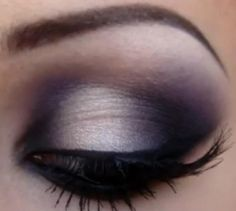 Light Smokey Eye Makeup