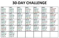 30-day challenge March 2014