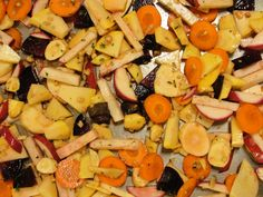 Maple Ginger Roasted Root Vegetables Recipe