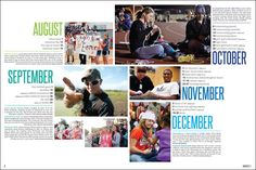 examples of chronological yearbooks - Google Search