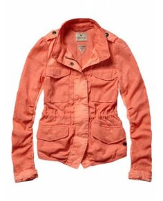 Fitted military jacket - Jackets - Official Scotch & Soda Online Fashion & Apparel Shops $210.00