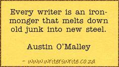Quotable – Austin O'Malley – Writers Write