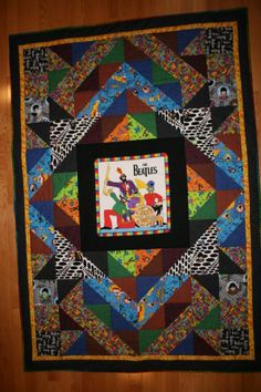 Paul's 50th - Beatles Quilt