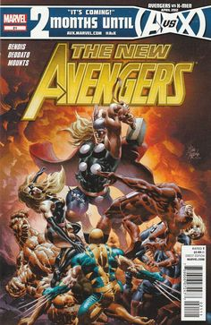 The New Avengers # 21 Marvel Comics ( 2012 ) Vol 2