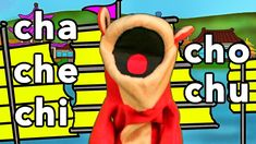 Sílabas cha che chi cho chu - El Mono Sílabo - Videos Infantiles - Educa...