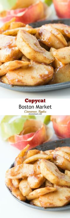 Um yes. Copycat cinnamon apples from Boston Market!! via @ohsweetbasil